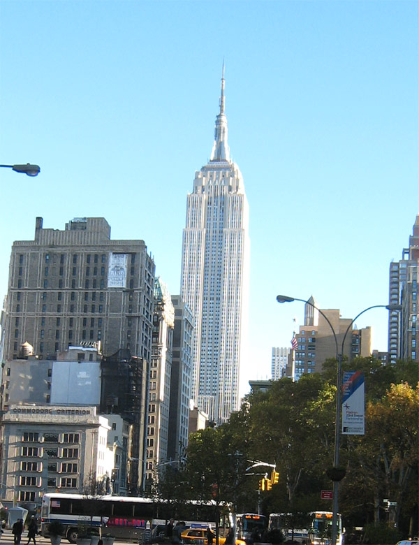 Empire State Building on November 1st 2010